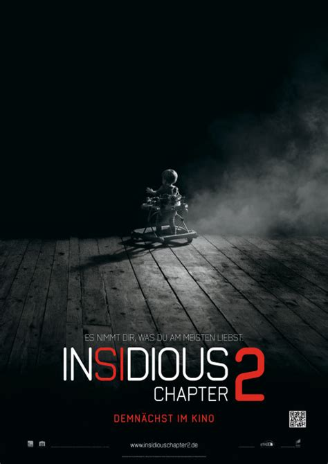 video film insidious chapter 2 filmplakat insidious chapter 2 2013 plakat 1 von 2