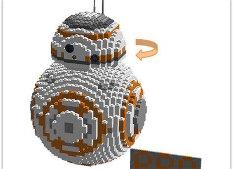 lego bb8 lego ideas wars bb8