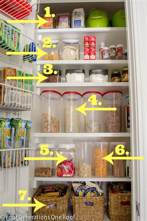 Pantry Food Storage Containers by Pantry Archives Four Generations One Roof