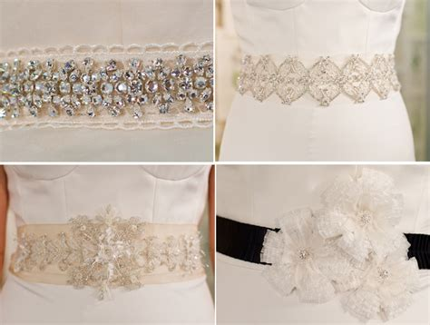 wedding dress sparkly belt