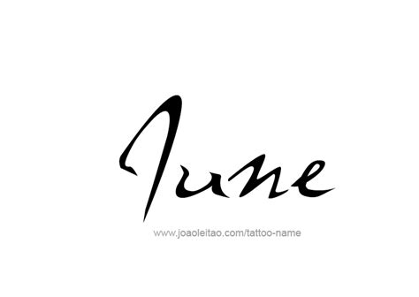 june 2015 tattoo designs june month name tattoo designs tattoos with names