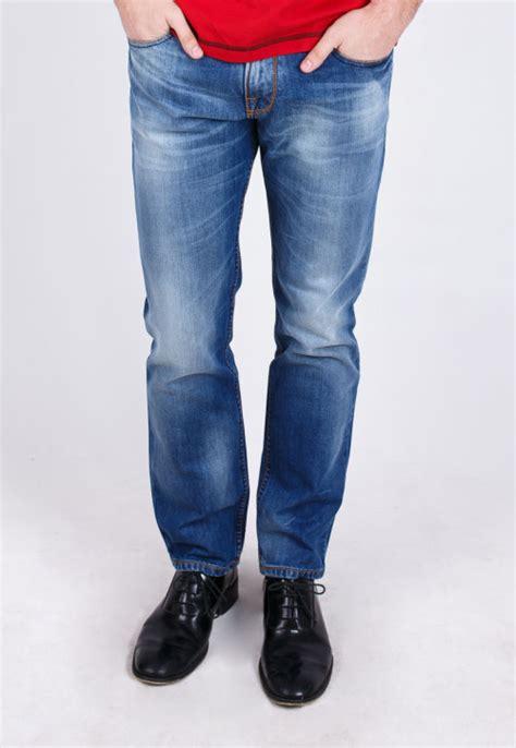 Pakaian Pria Kemeja Slimfit Duncan Soft Blue slim fit blue washed whisker