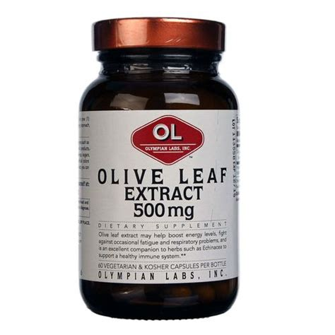 Olive Leaf Extract Detox Symptoms by Olympian Labs Olive Leaf Extract 60 Capsules Evitamins