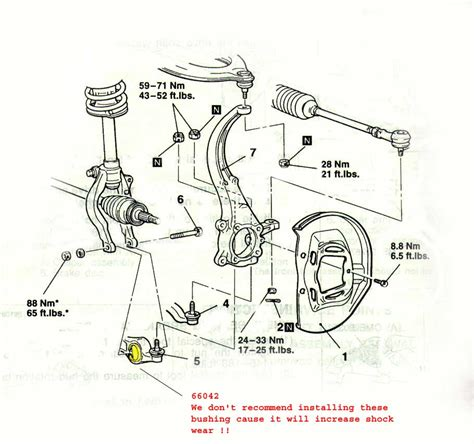 car suspension parts names pictures of suspension parts and names honda tech