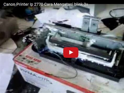 reset canon ip2700 series cara reset printer canon ip2770 ip2700 printer canon