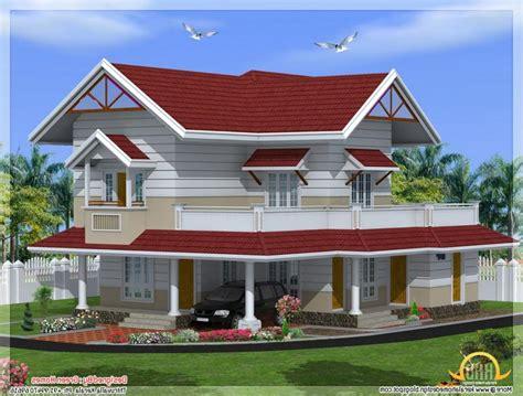kerala new style house photos