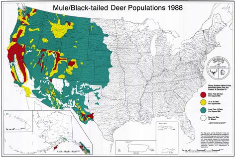 texas deer population map uga scwds historic wildlife range maps