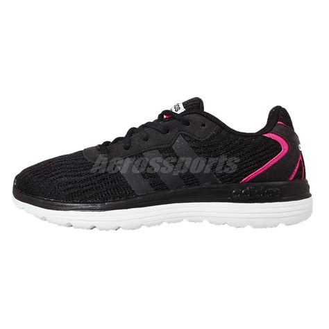 adidas cloudfoam speed black adidas neo label cloudfoam speed w black pink white womens