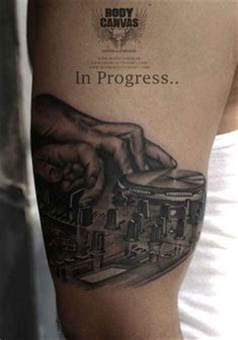 house music tattoo designs best 25 dj tattoo ideas on pinterest music logo cd music and semper fi tattoo