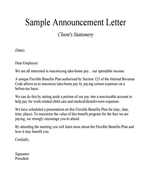 Sle Open Enrollment Letter The Best Letter Sle Open Enrollment Memo Template