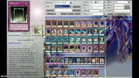 yugioh magier deck dunkle magier deck profil