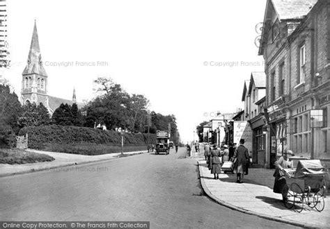 tattoo london road camberley photo of camberley london road 1919 francis frith