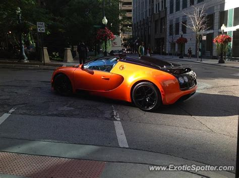 bugatti chicago bugatti veyron spotted in chicago illinois on 08 14 2014