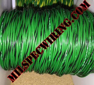 green black wire 18awg wire green black