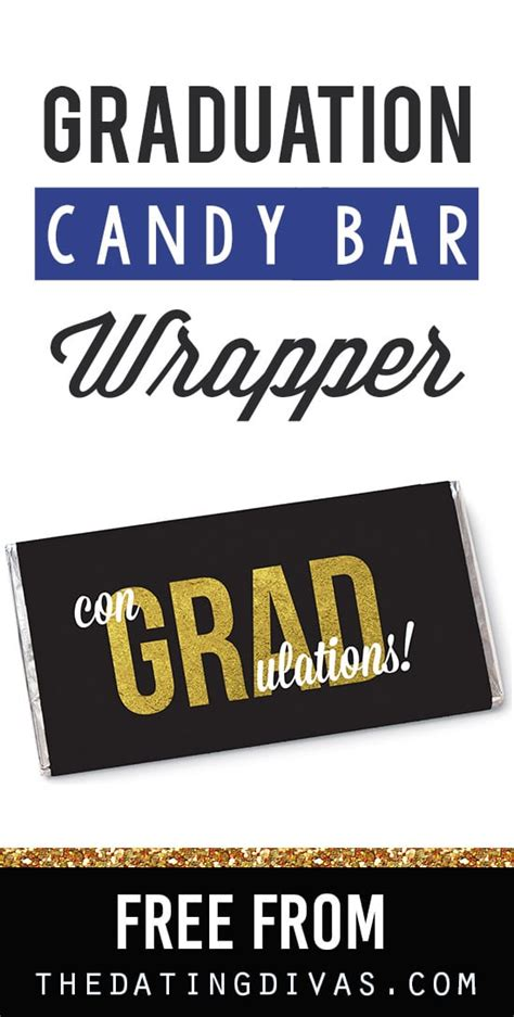 free printable graduation bar wrappers templates free personalized wrappers the dating divas