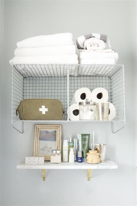 marble shelf bathroom 5 stylish affordable storage solutions for small spaces