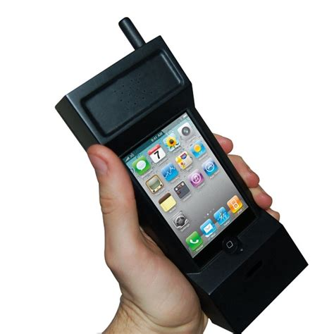 turn your mobile into a desk phone you can now buy an iphone case that ll give you a retro