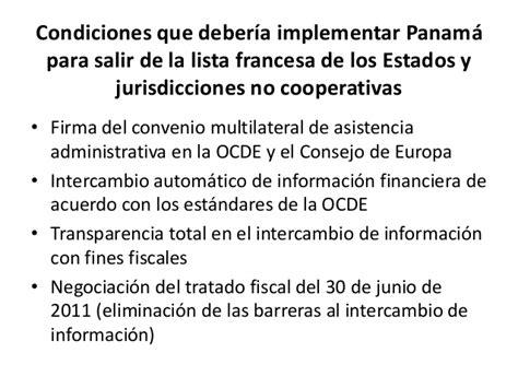 convenio multilateral de la ocde sobre asistencia administrativa mutua proyecciones econ 243 micas de panam 225 2017 2019