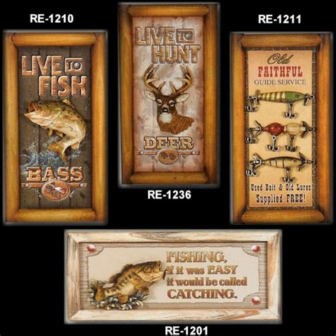 wall plaques home decor fishing gifts gifts