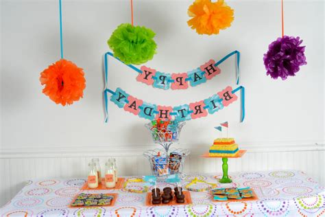home design simple birthday decoration ideas in home
