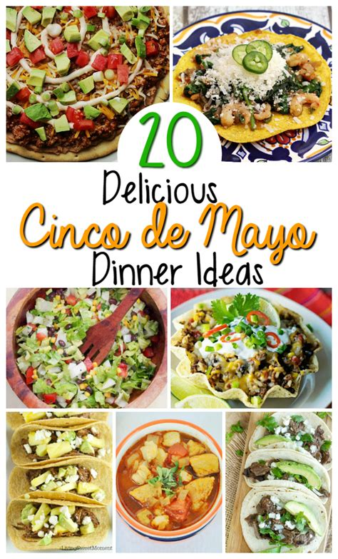 mexican menu ideas for dinner mexican food recipes for cinco de mayo oh my creative