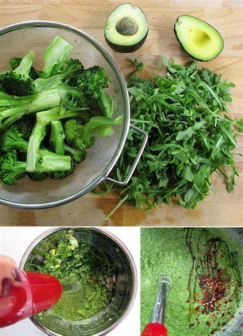 Broccoli Arugula Detox Soup by Summertime Detox Avocado Arugula Broccoli Soup