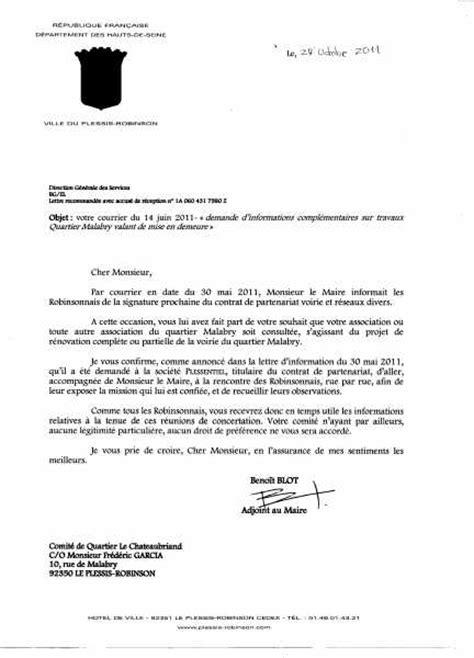 Exemple De Lettre Recommandée De Mise En Demeure Lettre Mise En Demeure Travaux Document