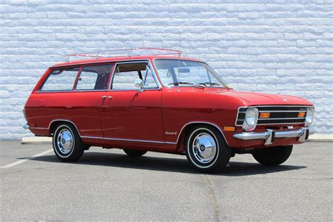 1968 Opel Kadett L Station Wagon Maintenance Restoration