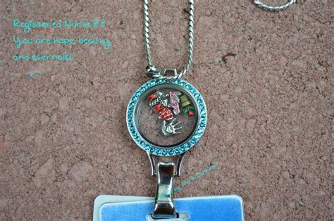 Origami Owl Large Silver Locket With Crystals - 30 quot silver wheat lanyard chain large silver lanyard