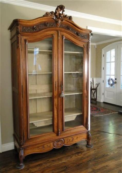 antique french country china cabinet antique french country bookcase cabinet china display