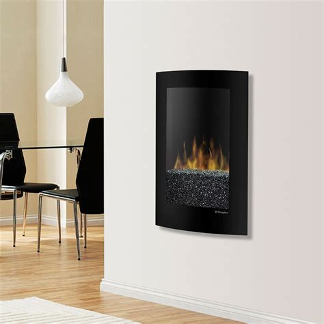 dimplex convex black wall mount electric fireplace vcx1525
