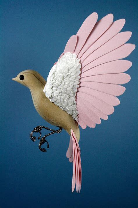 And Bird Sculptures by Bird Sculptures Made Of Wood Paper By Zack Mclaughlin