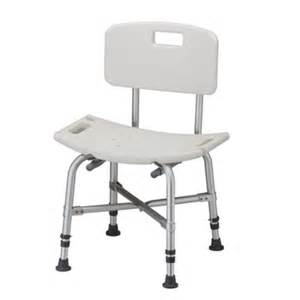 heavy duty shower chair with back bath safety