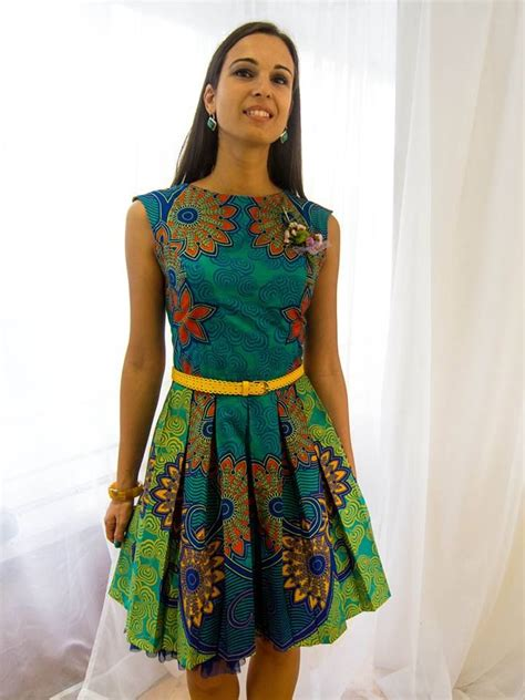Afrina Dress vlisco dress mes tenues en pagne
