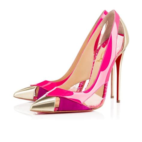 christian louboutin and pink heels collection