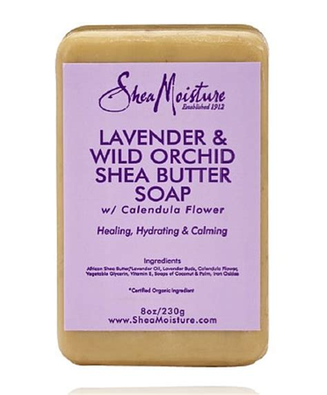 Butter Lavender And lavender and orchid shea butter soap shea moisture