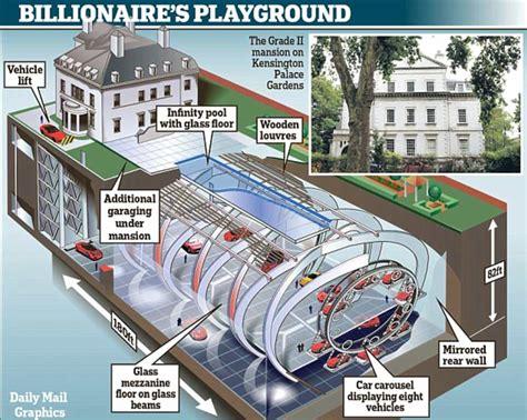 map reveals  mega basements dug beneath london homes