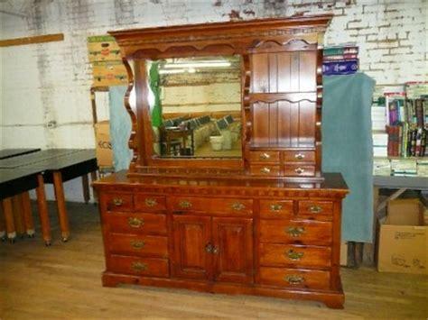 link taylor cherry dresser link taylor colonial pine dresser with mirror lexington