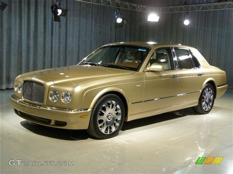 gold color cars 2005 antique gold bentley arnage r 85615 gtcarlot com