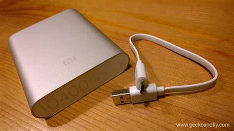 Powerbank Charging xiaomi 10400 mah portable power bank charger review