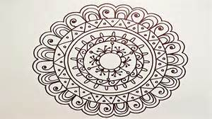 drawing a easy amp fun mandala for beginners part 1 youtube