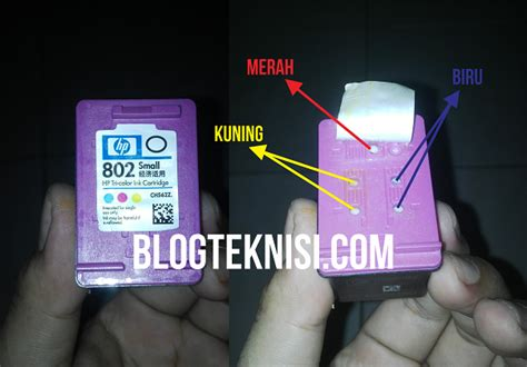 Tinta Hp 802 Xl Hitam Cartridge Hp Deskjet 1000 1050 1056 2000 Ori cara mengisi tinta warna printer hp1010 cartridge 802 teknisi