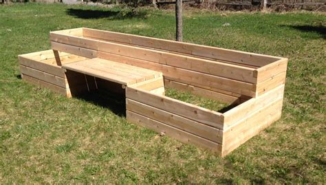 Raised Garden Bed Kit by Raised Garden Bed Kits With Bench