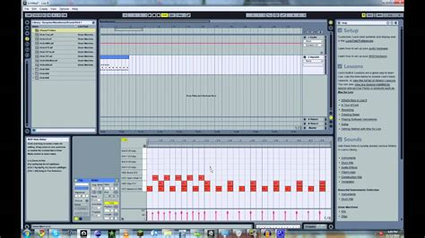 make drum pattern ableton ableton live how to make a house beat tutorial youtube