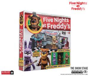 Show stage construction set exclusive brand five nights at freddy s