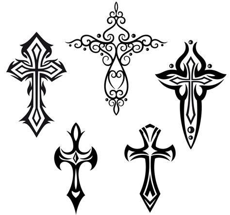 tribal cross tattoos for guys 8 cross tattoos designs for 30 best tribal