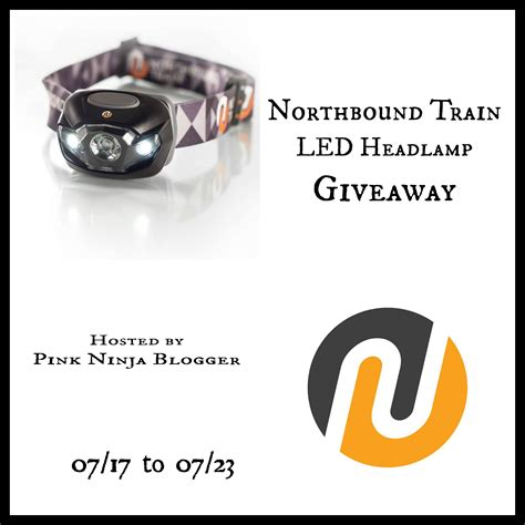Led Giveaways - northbound train led headl giveaway