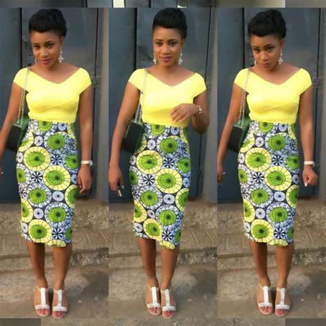 trendy nigerian styles trendy and creative ankara style skirt dezango fashion