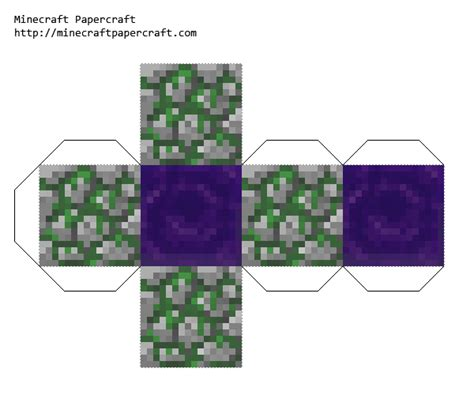 minecraft papercraft nether pictures to pin on