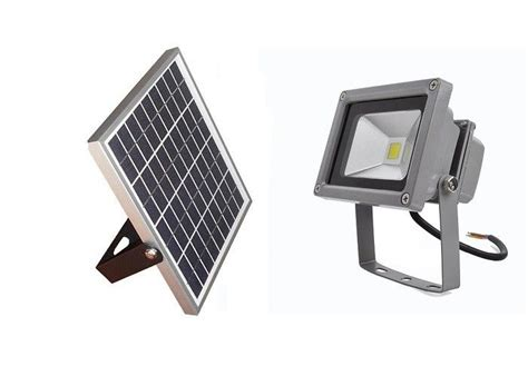 warm color 10 watt solar led flood light environment